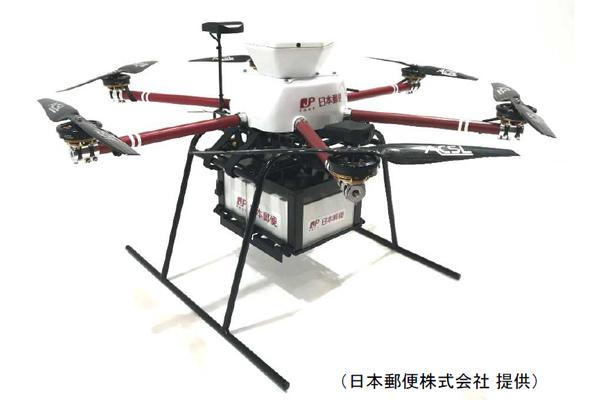 日本郵便が飛行実験に使った『ACSL-PF1』